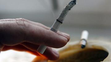 Табак содержит радиоактивный полоний-210