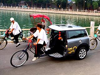 Китайцы оснастили модный Mini Clubman цепным приводом