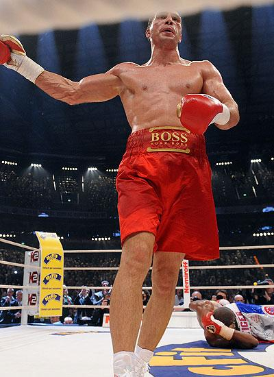 Владимир Кличко защитил свой чемпионский титул WBO(+10 фото)