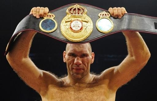 Николай Валуев завоевал титул чемпиона мира!