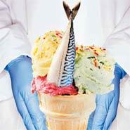 Британские извращенцы выбрали 20 новых вкусов мороженого: рыба, свинина, сосиски