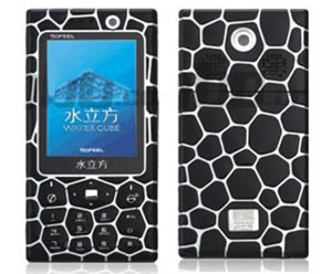 В Китае представлен телефон по мотивам олимпийского бассейна Water Cube
