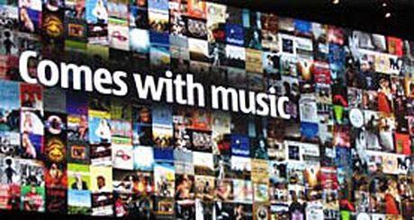 Nokia начала раздавать бесплатные музыкальные треки в Британии