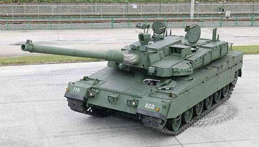 Altay – новый турецкий танк