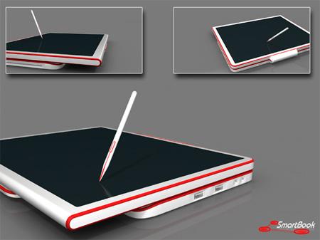 SmartBook - ноутбук для дизайнера