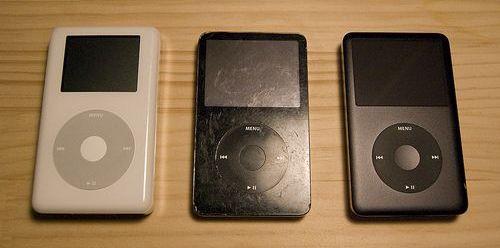 iPod может получить широкий экран
