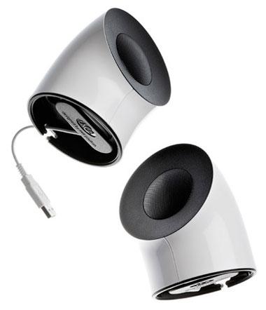Причудливая USB-акустика LaCie с дизайном от Neil Poulton