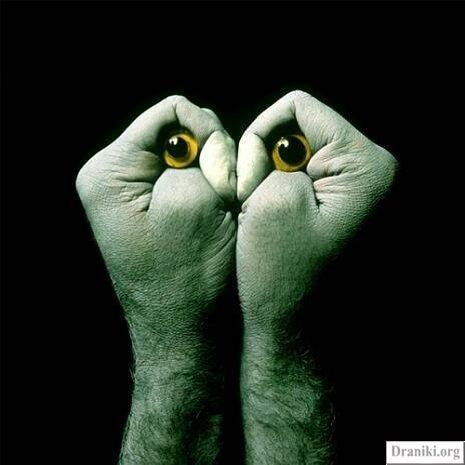Фигуры руками