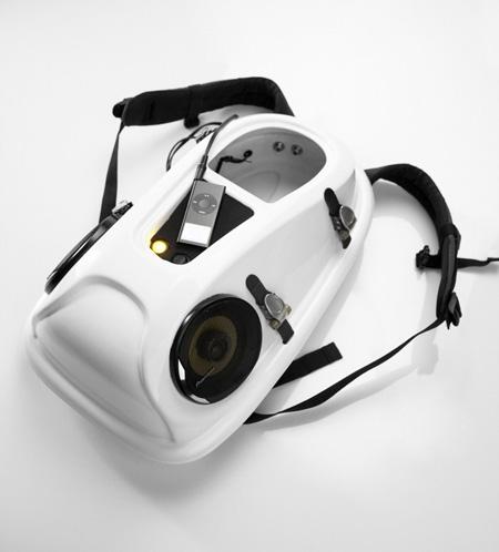 Рюкзак-акустическая система Reppo II