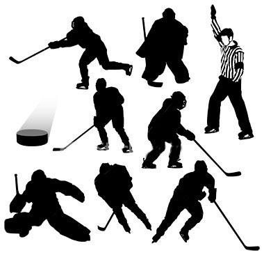 История появления хоккея с шайбой.