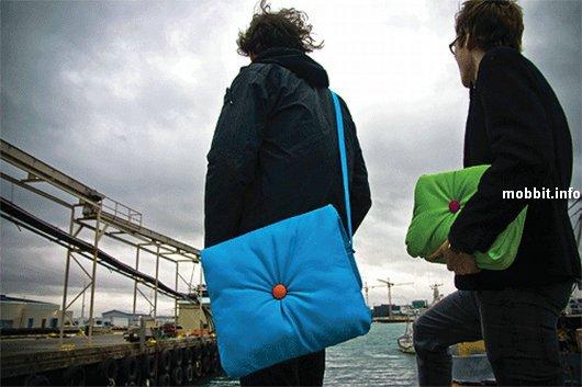 Napbook – сумка и подушка в одном