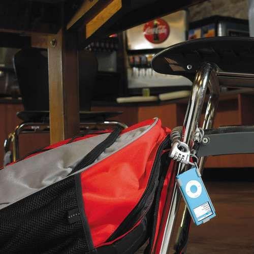Плеер можно защитить от кражи, как велосипед