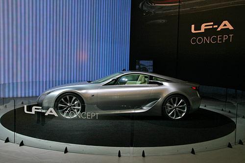 Концепт Lexus LF-A