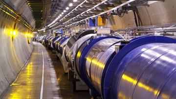 Первый пучок протонов пройдет по кольцу Большого адронного коллайдера.Сегодня,10 сентября.