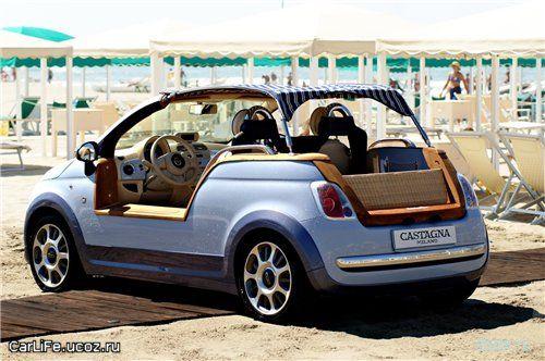Fiat 500 Tender Two: чисто пляжный вариант