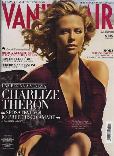 Шарлиз Терон (Charlize Theron) — ELLE & Vanity Fair