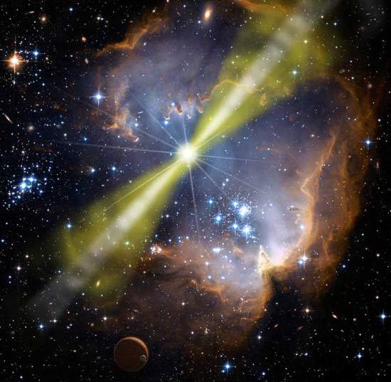 Во Вселенной зафиксирована еще одна супер-вспышка