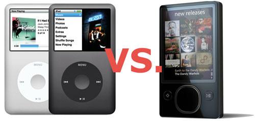 Кто кого? iPod Vs Zune