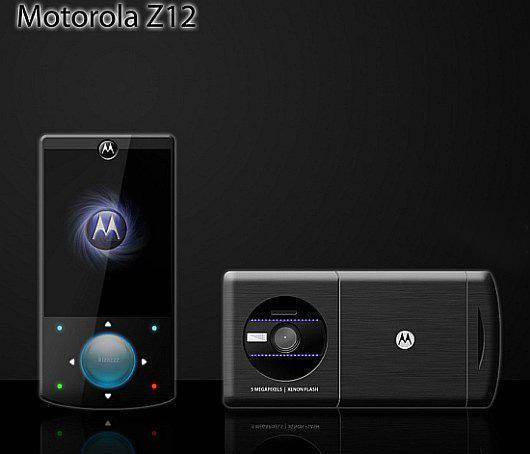 Motorola Z12 – красивый, стильный, несуществующий