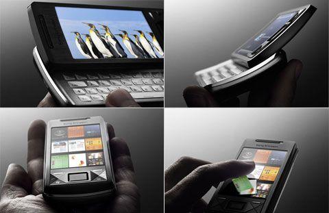 Touch Panel телефона XPERIA X1 можно увидеть на других коммуникаторах Sony Ericsson
