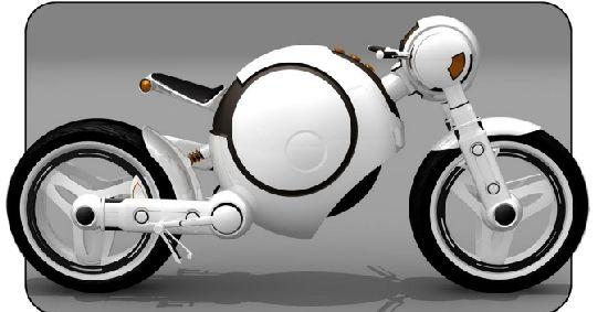 Концепт мотоцикла Rae