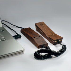 PAPPA*PHONE: первый в мире деревянный VoIP-телефон