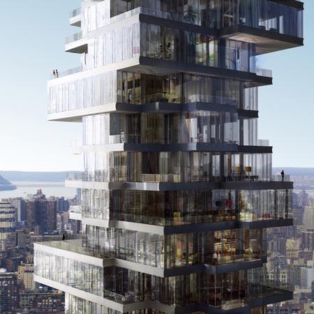 Башня в Нью-Йорке от создателей Птичьего Гнезда