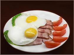 Чисто мужской завтрак?