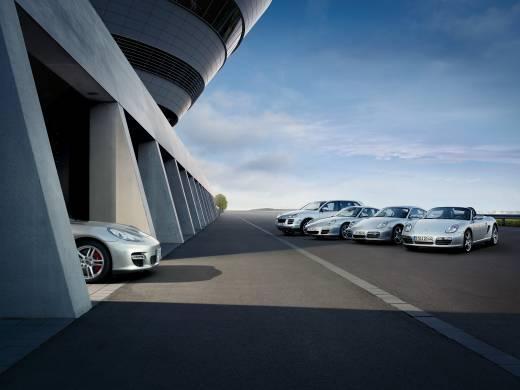 Porsche Panamera высунул нос