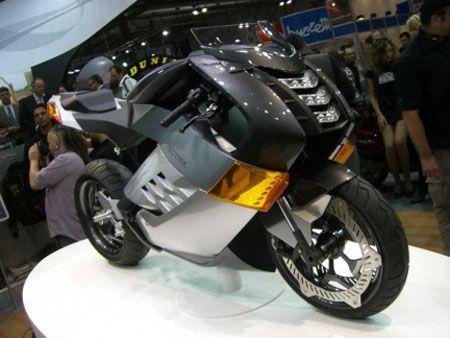 Полностью электрифицированный мотоцикл Vectrix Electric Super Bike