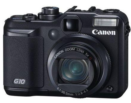 Canon представил фотокамеру PowerShot G10
