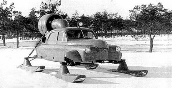 """Интересная модификация ГАЗ М20 """"Победа"""""""