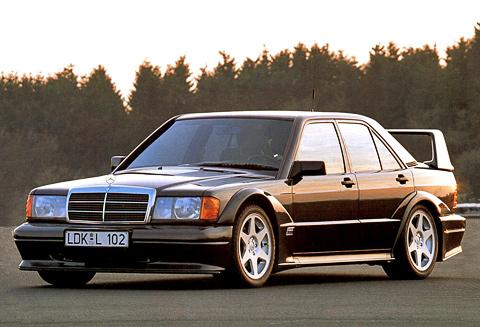������ ������. ��� �������� Mercedes 190E ���� ����������� ����������