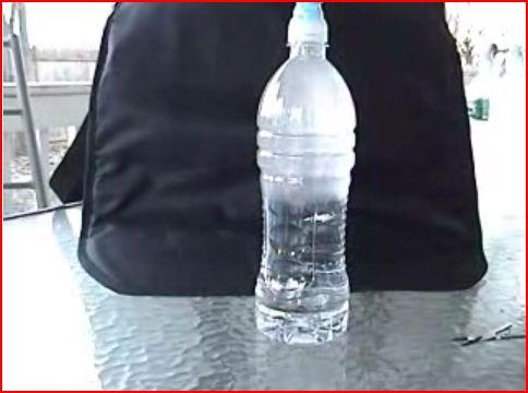 Сверхохлажденная вода (YouTubeVideo)