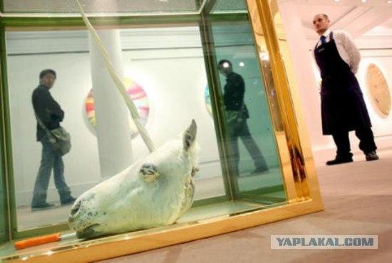 Английский художник Дэмьен Хёрст, побит рекорд Пикассо