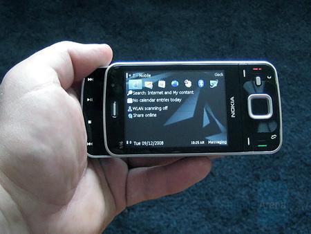 Видео обзор Nokia N96 (на английском)