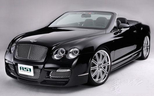 Тюнинг-ателье ASI разработало стайлинг для Bentley Continental GT