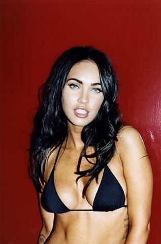 Фотографии Меган Фокс (Megan Fox) в бикини для GQ