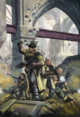 Вархаммер 40000 Имперская гвардия 2 (арт)