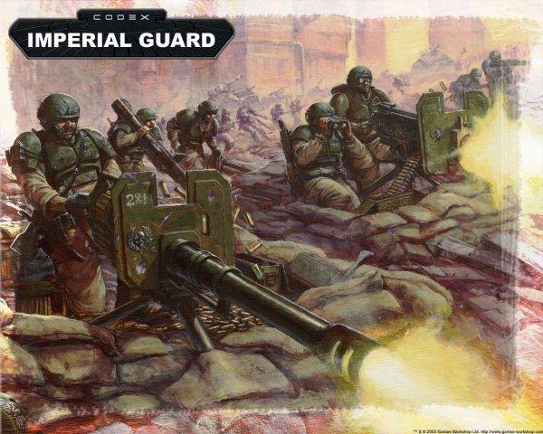 Вархаммер 40000 Имперская Гвардия 3 (арт)