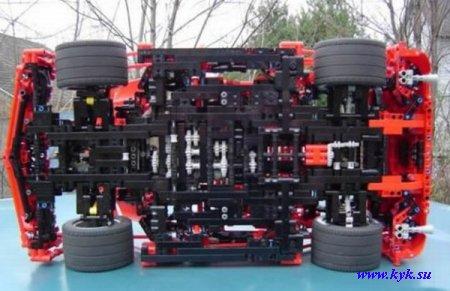 Автомобиль из LEGO