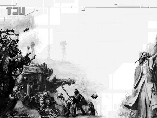 Вархаммер 40к Империя Тау (арт) часть 1
