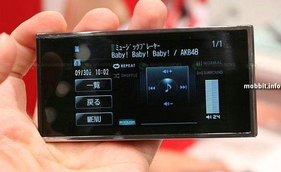 Очень интересный концептуальный телефон от Fujitsu