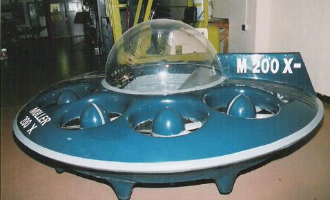 Первая летающая тарелка поступила в продажу
