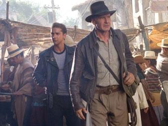 """Лукас работает над сюжетом пятого """"Индианы Джонса"""""""