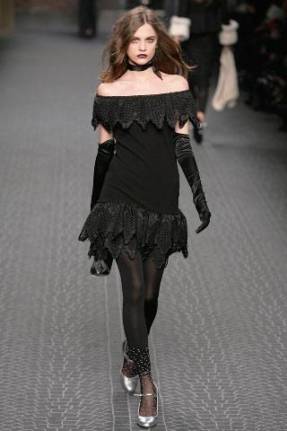 Модные тенденции осень-зима 2008: высокие перчатки
