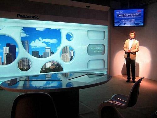 Panasonic Lifewall – интерактивная стена (+ видео)