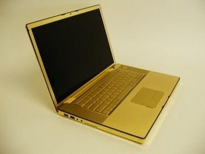 Mac Book Pro из чистого золота