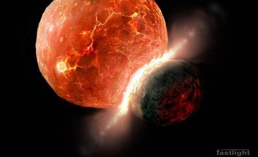"""Марс не стал """"второй Землей"""" из-за астероида, который пробил дыру в его коре"""
