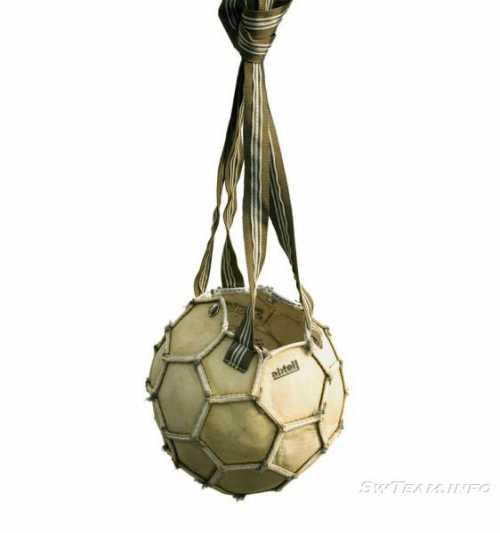 Как можно использовать старый мячик